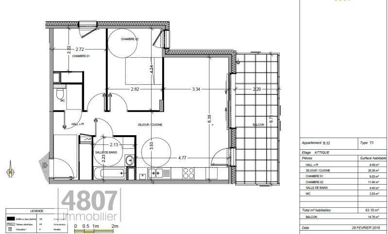 Vente appartement Annemasse 335000€ - Photo 1