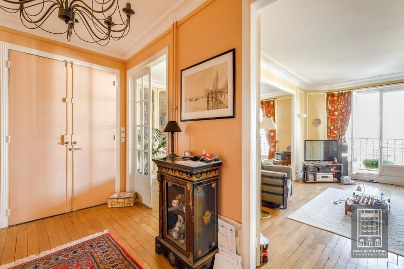 Vente de prestige appartement Paris 18ème 1 490 000€ - Photo 10