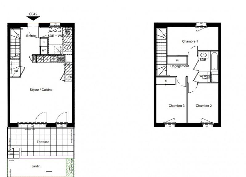 Vente maison / villa Bron 387000€ - Photo 4