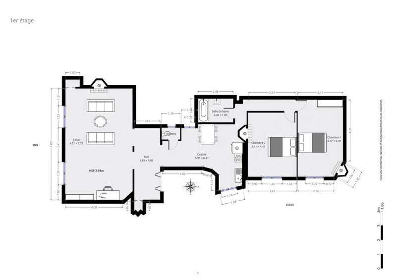 Deluxe sale apartment Paris 18ème 1300000€ - Picture 9