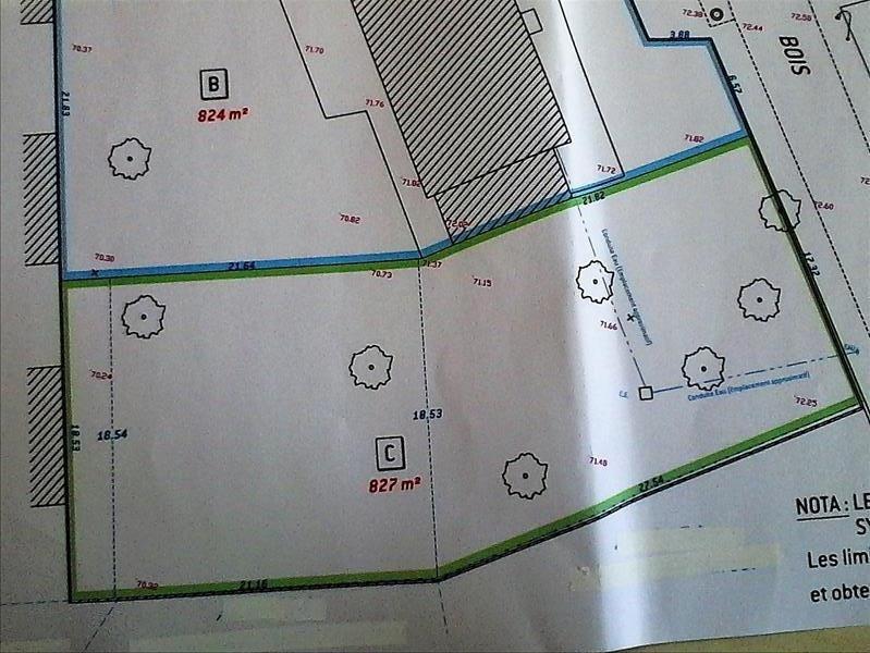 Revenda terreno Breval 7 mn 82000€ - Fotografia 2