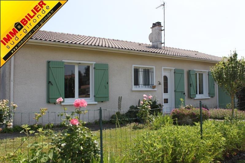 Revenda casa Langon 209000€ - Fotografia 1