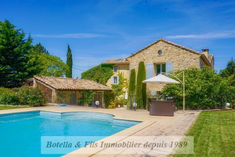 Vente de prestige maison / villa Uzes 895000€ - Photo 1