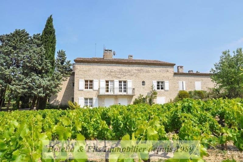 Vente de prestige maison / villa Barjac 1270000€ - Photo 2