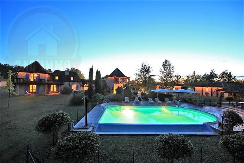 Deluxe sale house / villa Bosset 1 260 000€ - Picture 1