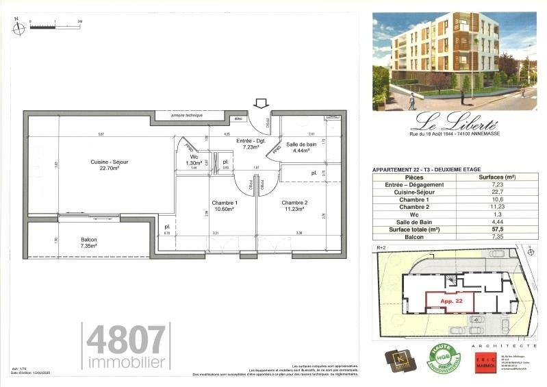 Produit d'investissement appartement Annemasse 245000€ - Photo 2