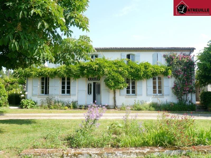 Vente maison / villa Gemozac 527850€ - Photo 1