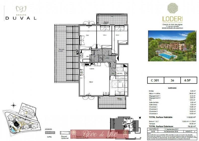 Deluxe sale apartment Bormes les mimosas 622000€ - Picture 1