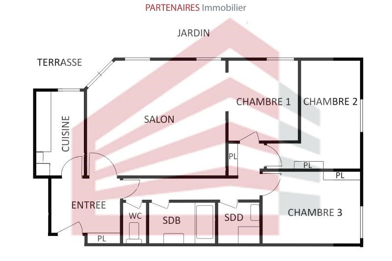 Vente appartement Le chesnay 466 000€ - Photo 4