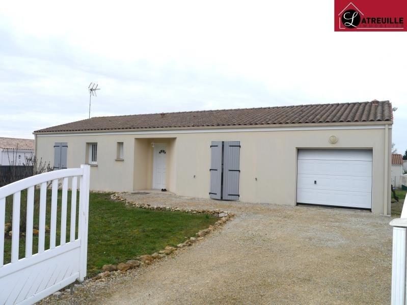 Location maison / villa Champagnolles 690€ CC - Photo 1