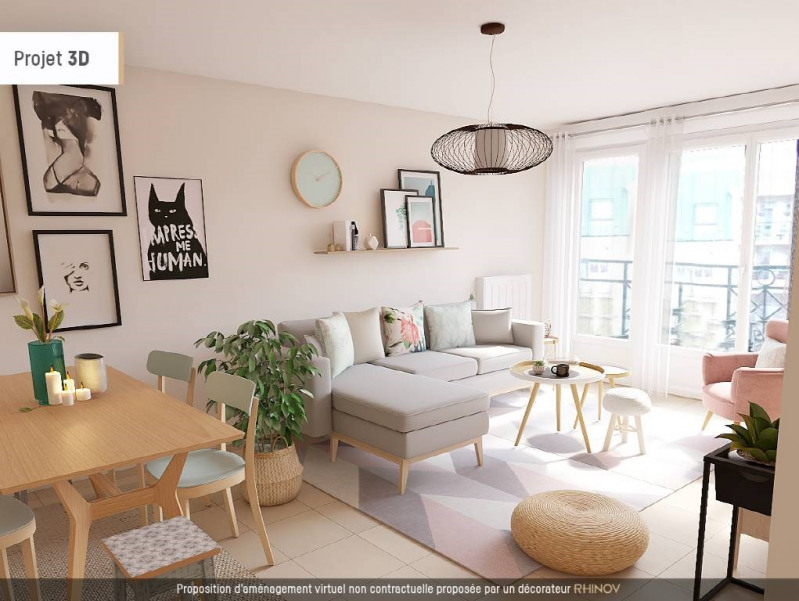 Sale apartment Bretigny-sur-orge 199500€ - Picture 1