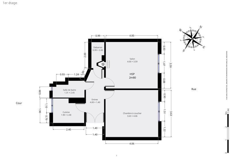 Vente appartement Paris 12ème 469000€ - Photo 9