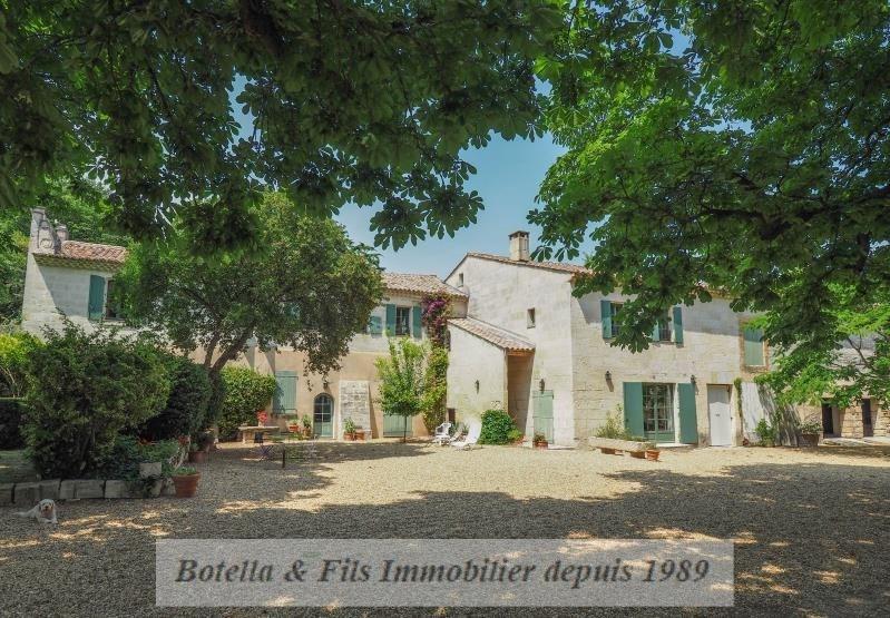 Immobile residenziali di prestigio casa Uzes 1570000€ - Fotografia 1
