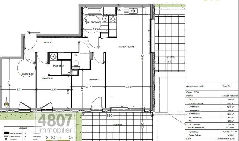 Vente appartement Annemasse 352000€ - Photo 2