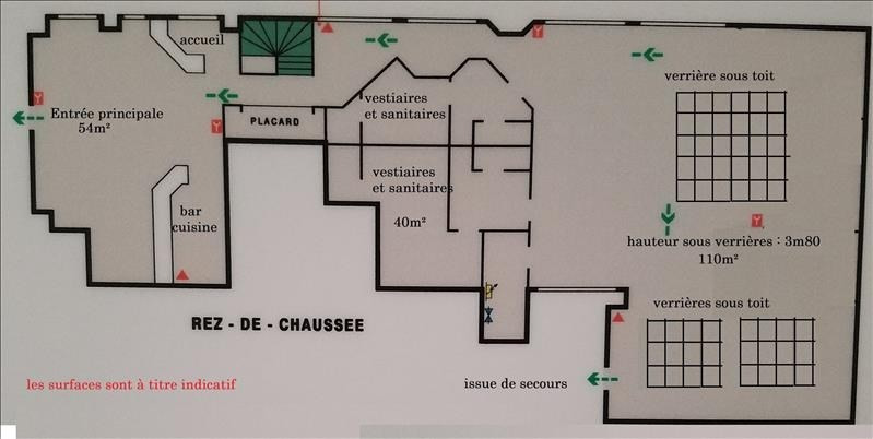 Rental empty room/storage Paris 17ème 15 000€ HT/HC - Picture 5