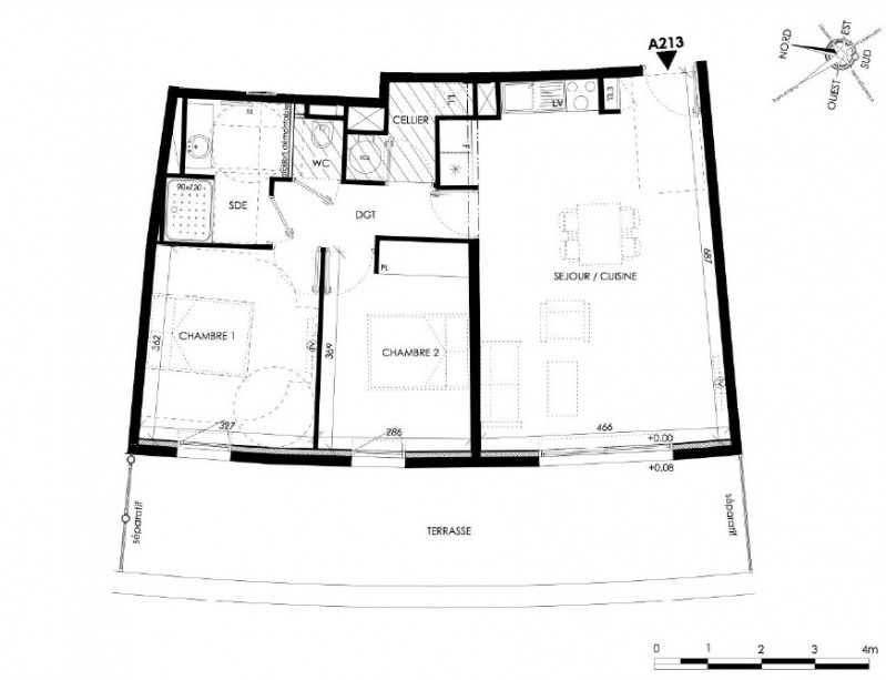 Vente immeuble Canet en roussillon 264000€ - Photo 2