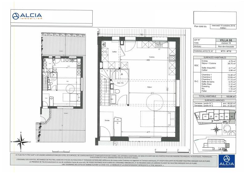 Deluxe sale house / villa Merignac 560000€ - Picture 1