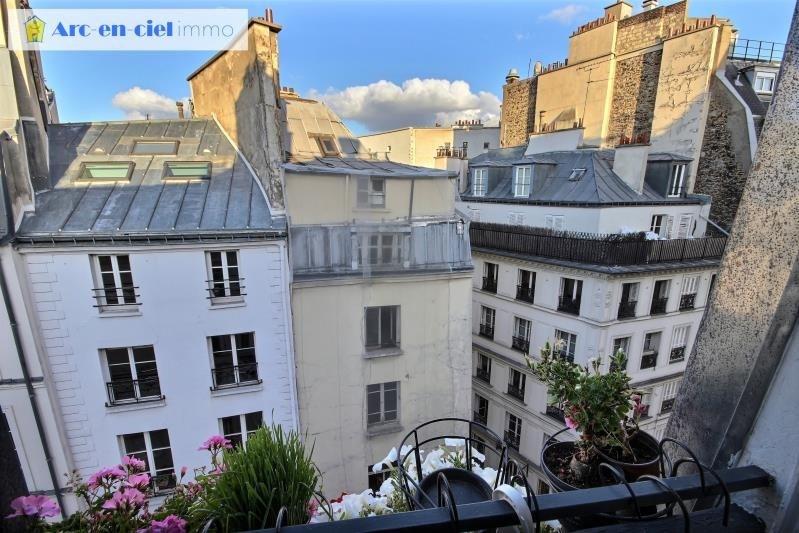 Verkoop  appartement Paris 2ème 485000€ - Foto 8