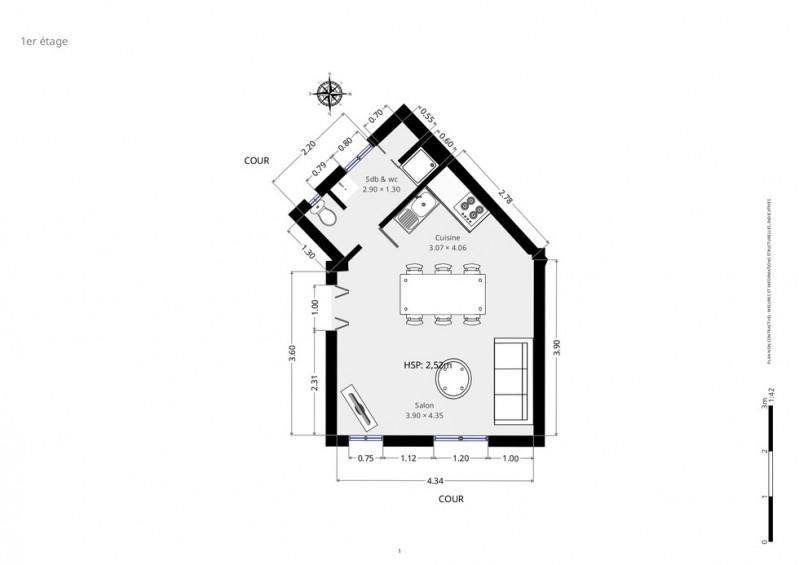 Sale apartment Paris 18ème 345000€ - Picture 10