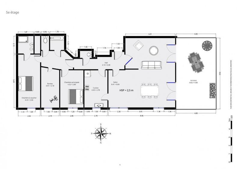 Vente appartement Saint-denis 593600€ - Photo 9