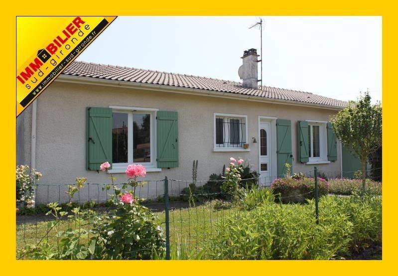 Sale house / villa Langon 203000€ - Picture 1