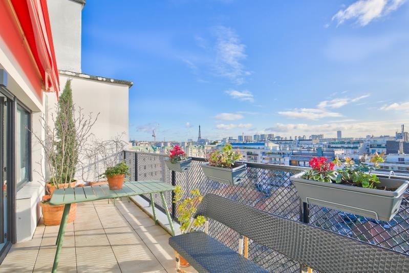 Rental apartment Paris 16ème 2750€ CC - Picture 1