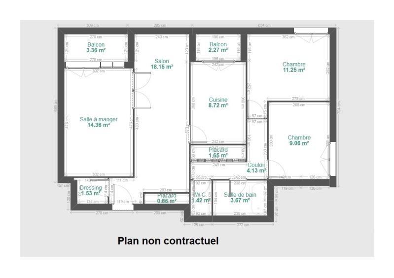 Vente appartement Fontaine 135000€ - Photo 1