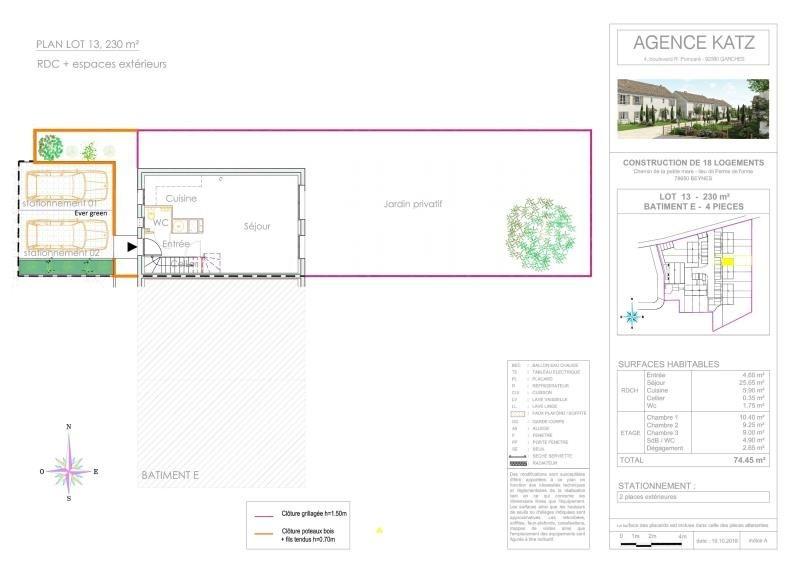 Vente maison / villa Beynes 250000€ - Photo 4