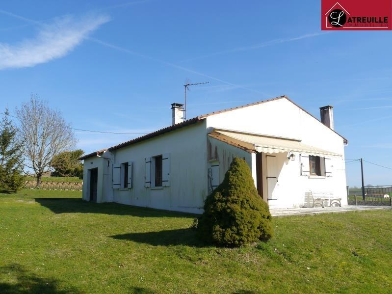 Sale house / villa Mortagne sur gironde 117700€ - Picture 1