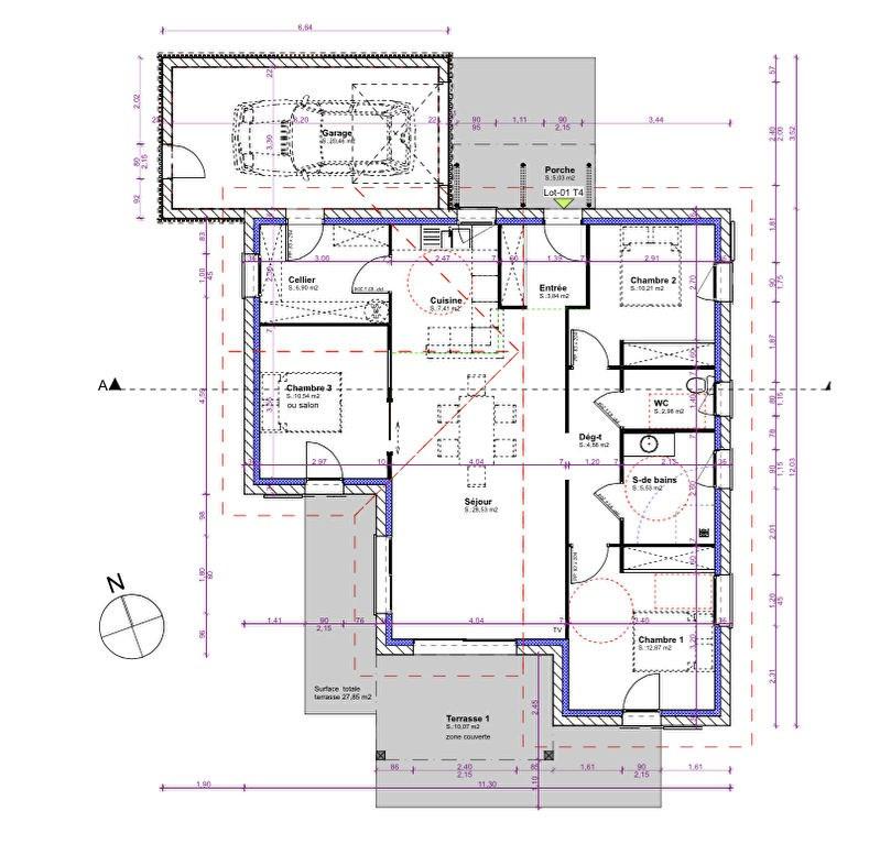 Vente maison / villa Aire sur l adour 233681€ - Photo 3