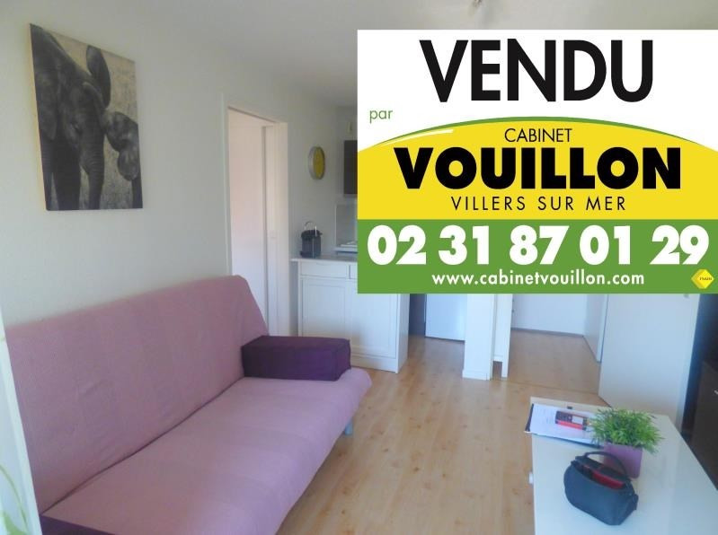 Vente appartement Villers sur mer 88 560€ - Photo 1