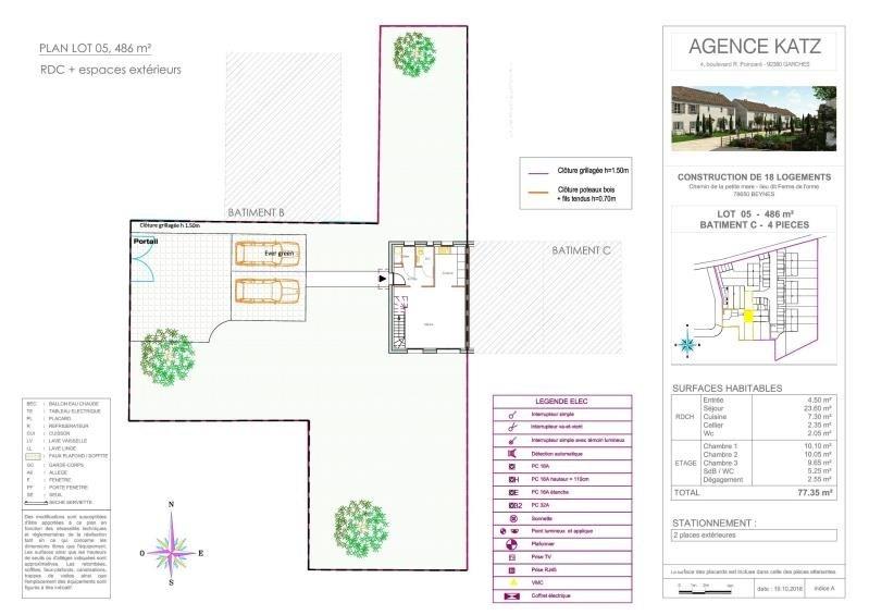 Vente maison / villa Beynes 285000€ - Photo 5