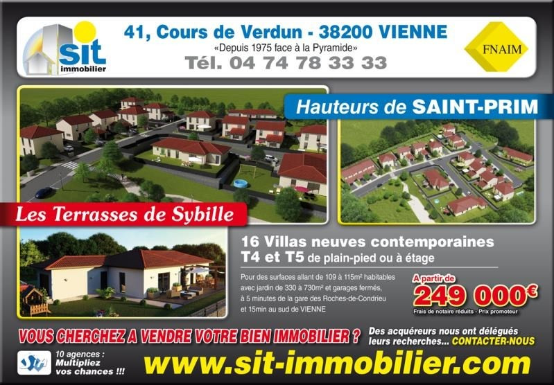 Vente maison / villa Vienne 269 000€ - Photo 4