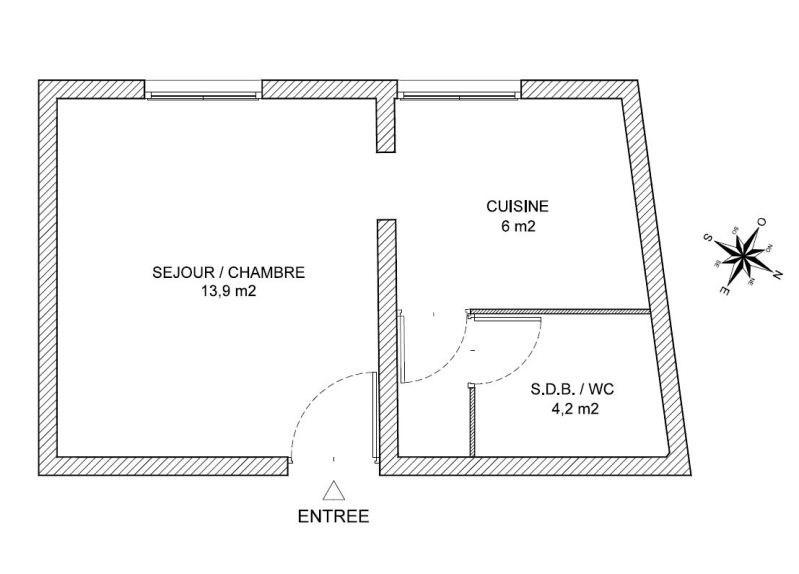 Location appartement Nantes 460€ CC - Photo 3