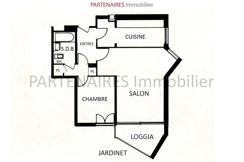 Vente appartement Le chesnay 260 000€ - Photo 4