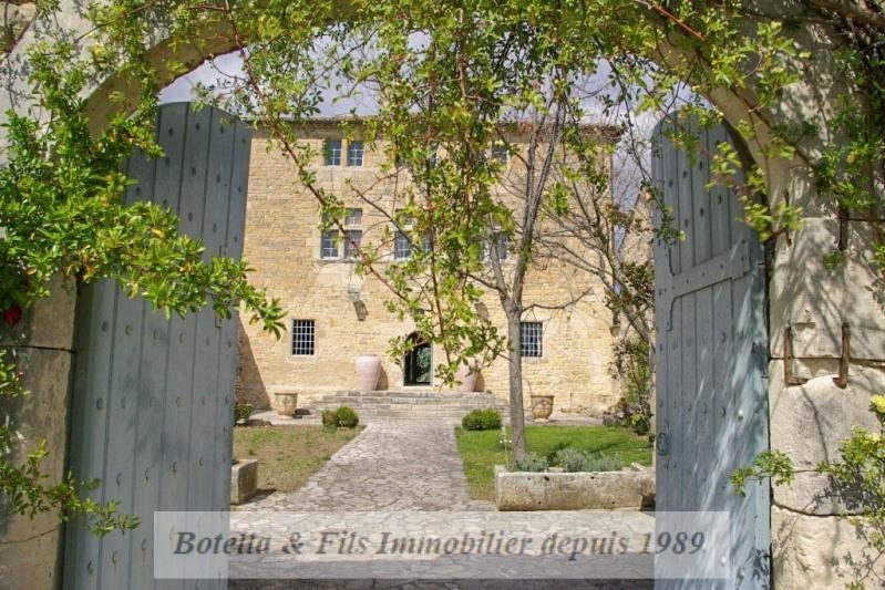 Deluxe sale chateau Uzes 1 985 000€ - Picture 1