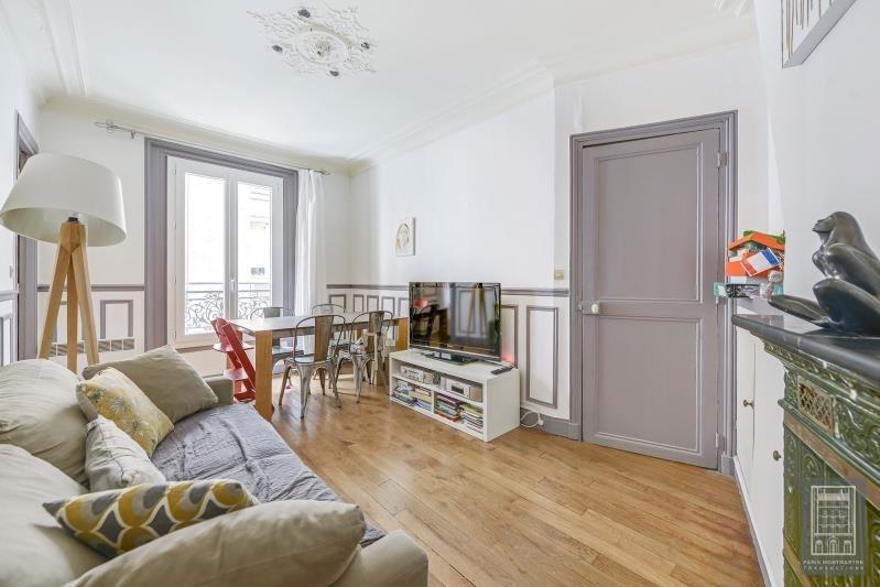 Sale apartment Paris 18ème 475000€ - Picture 2