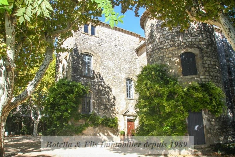 Deluxe sale chateau Uzes 1 948 000€ - Picture 1