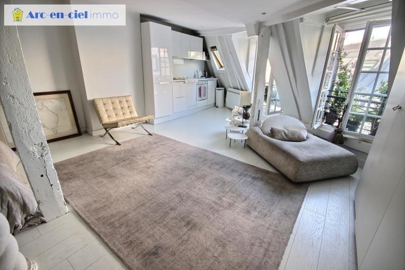 Verkoop  appartement Paris 2ème 485000€ - Foto 1