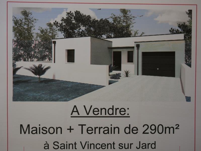 Vente maison / villa St vincent sur jard 239200€ - Photo 1