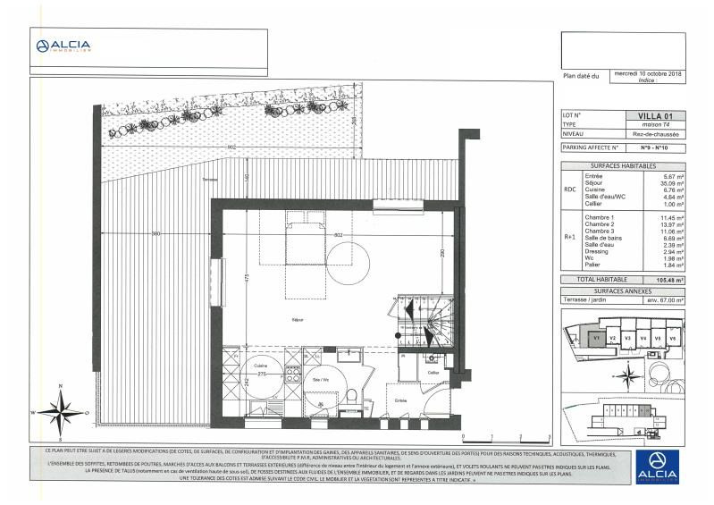 Sale house / villa Merignac 538000€ - Picture 2