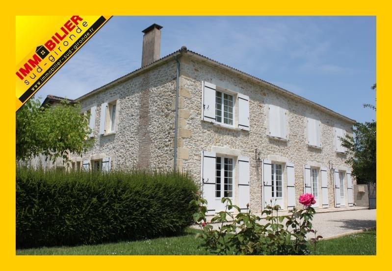 Sale house / villa Langon 420000€ - Picture 1