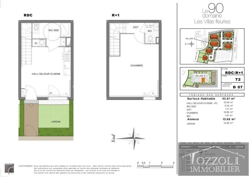 Sale house / villa Villefontaine 133000€ - Picture 3