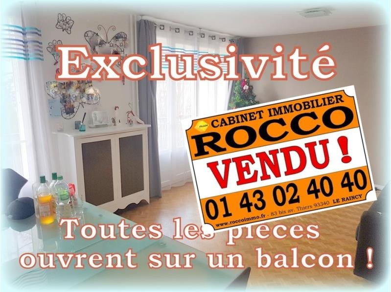 Vente appartement Le raincy 188 500€ - Photo 1