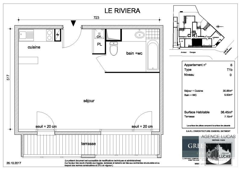 Rental apartment Chennevieres sur marne 650€ CC - Picture 2