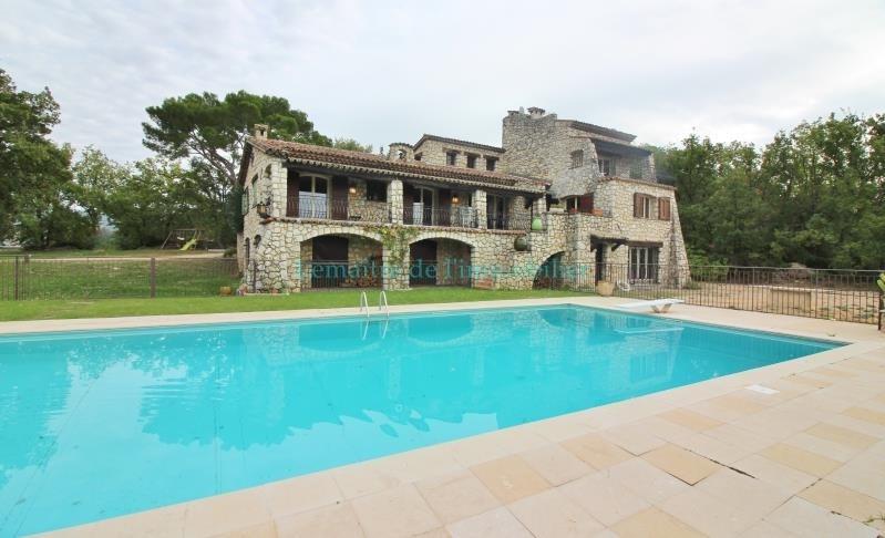 Vente de prestige maison / villa Saint cezaire sur siagne 990000€ - Photo 1