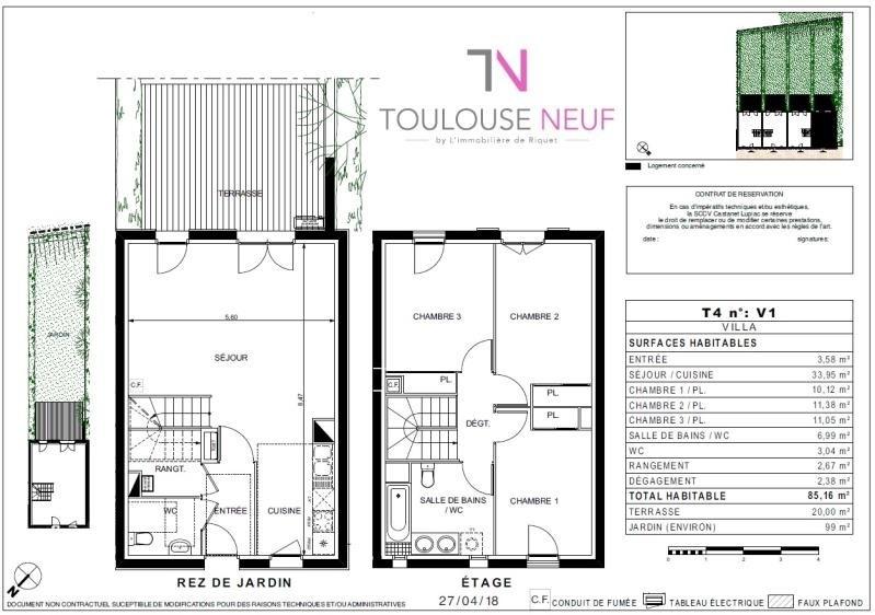 Vente maison / villa Castanet 378500€ - Photo 8