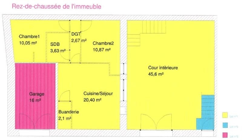 Investment property building Marsillargues 228000€ - Picture 5
