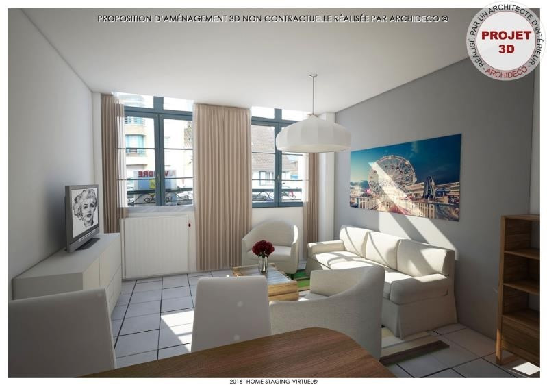 Vente appartement St omer 80 500€ - Photo 2