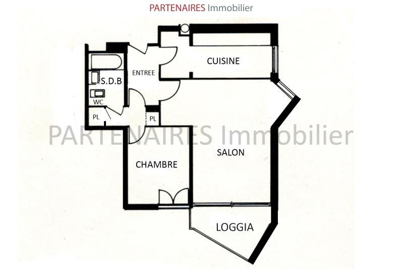 Vente appartement Le chesnay 260000€ - Photo 4